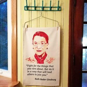 Radical Tea Towel Ruth Bader Ginsburg